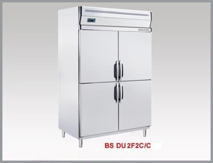 Tủ Nửa Đông Nửa Mát 4 Cánh Inox BS-DU2F2C/Z