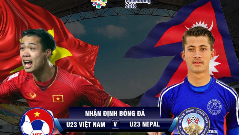 Cực nóng video U23 Việt Nam – U23 Nepal: Trên VTV xem ASIAD được không?