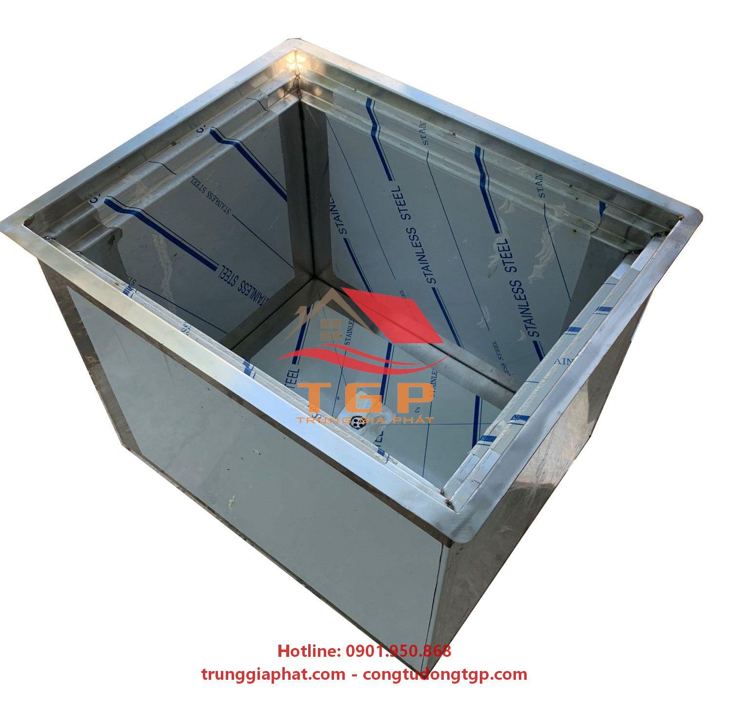 thùng đá inox 304