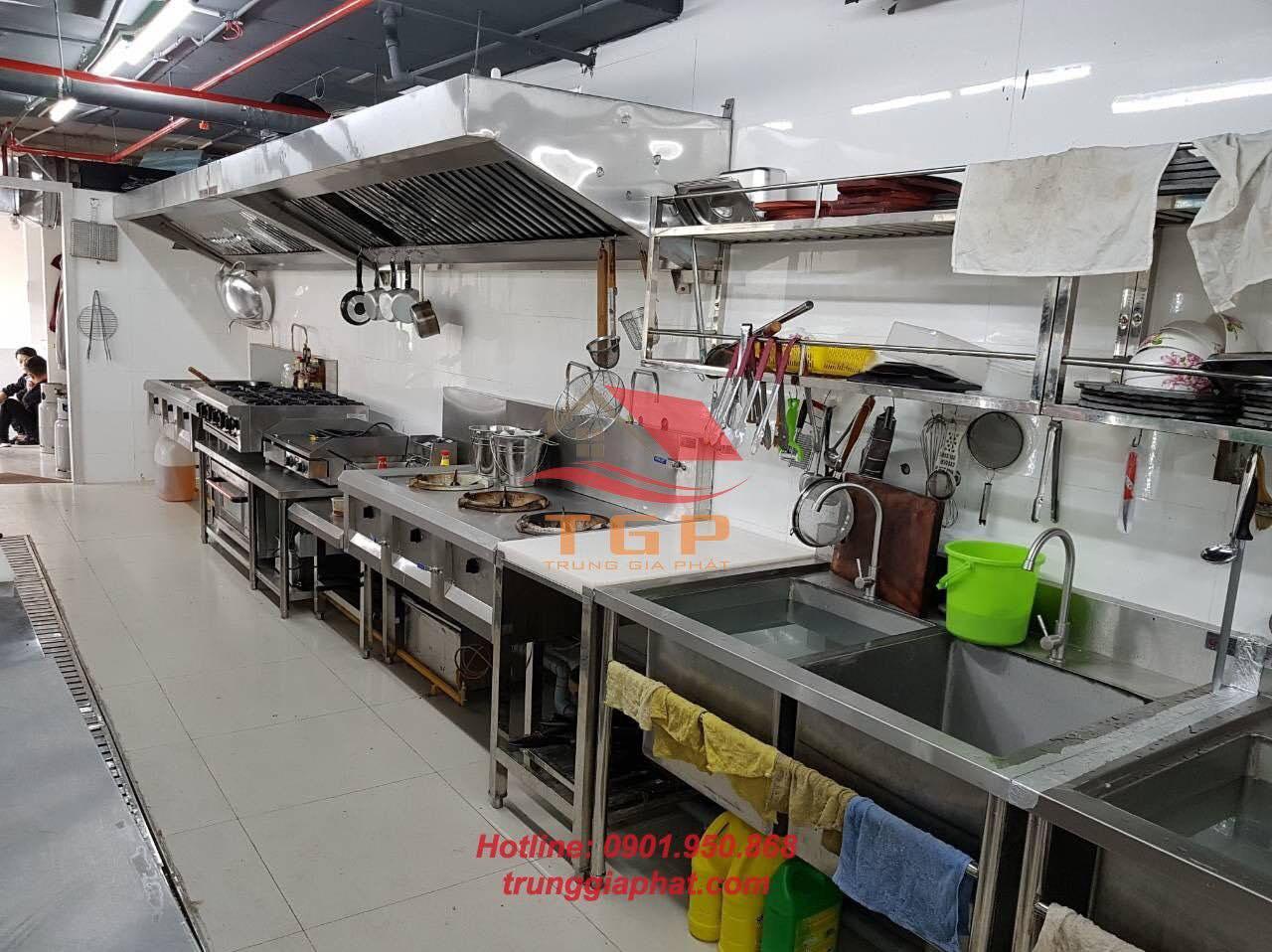 Bán bếp công nghiệp nhà hàng chính hãng