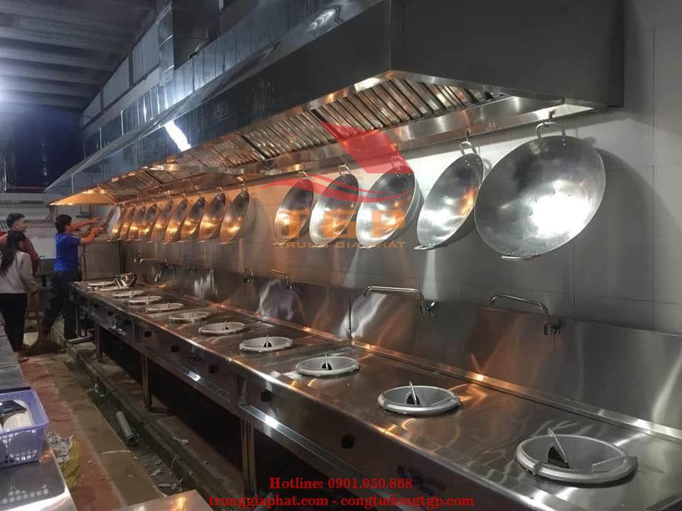 Sản xuất bếp ăn công nghiệp chất lượng