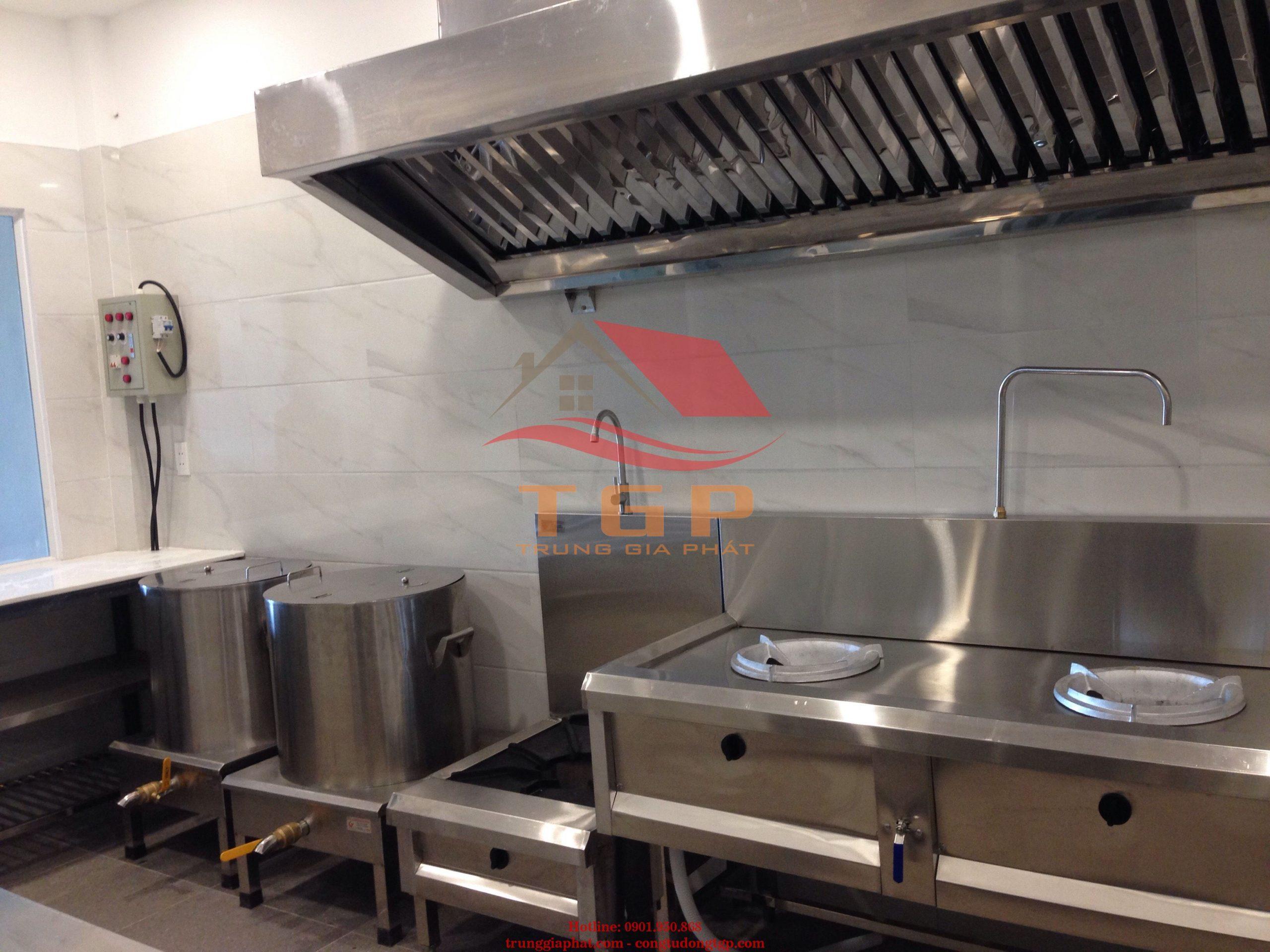 Thi công Thiết bị bếp inox chất lượng