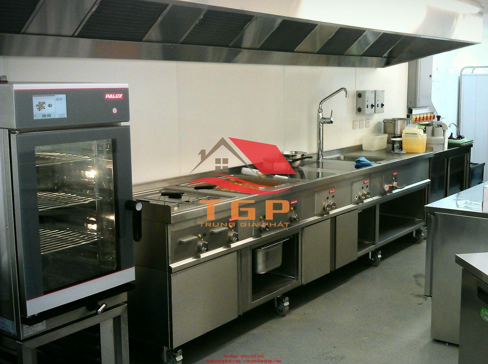 Thiết kế bếp công nghiệp nhà hàng đà nẵng