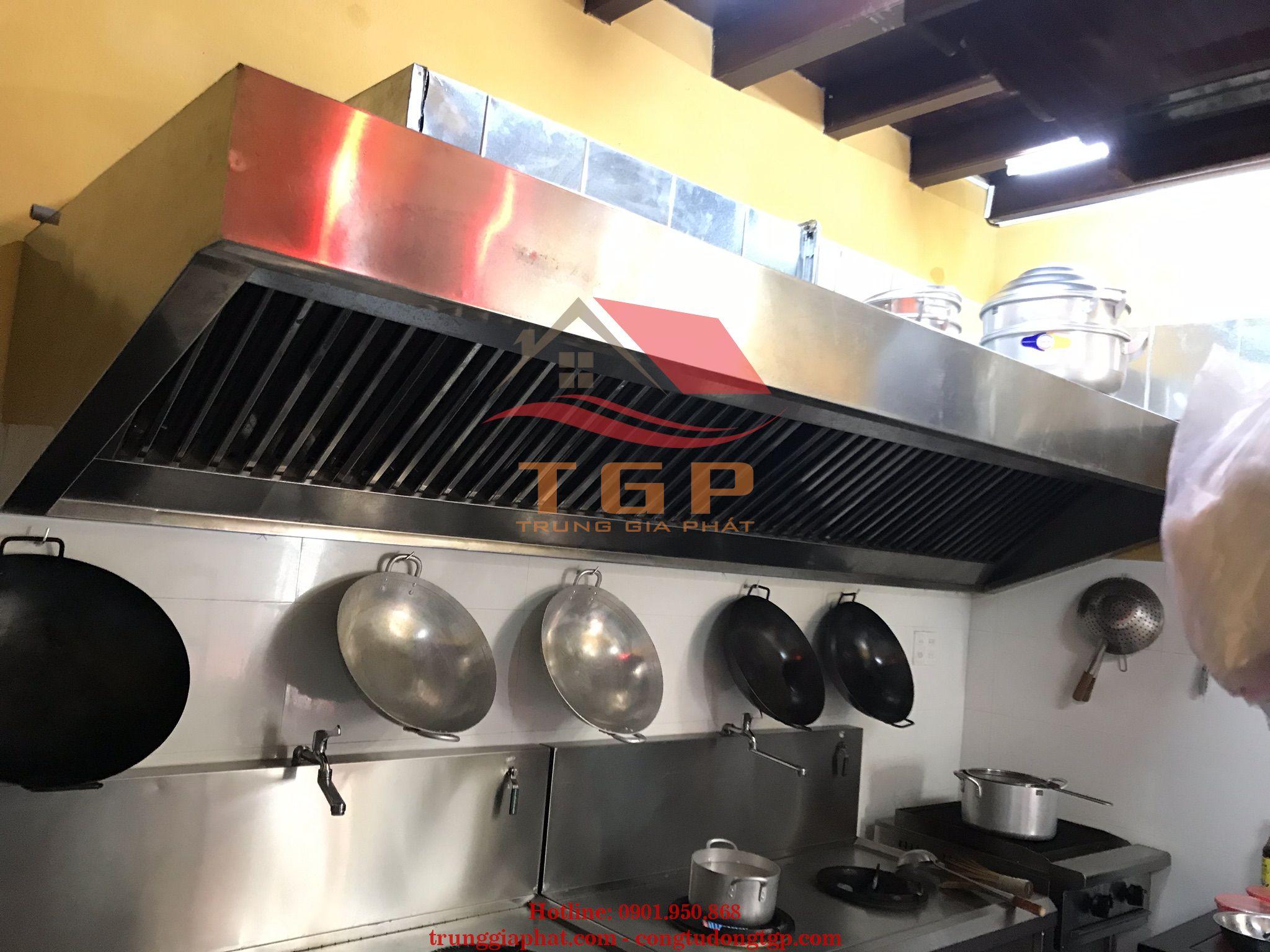 Thiết kế bếp inox công nghiệp đà nẵng
